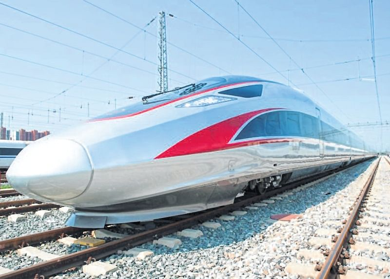Indore: Coming soon? RRCAT scientist's bullet train!