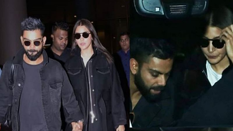 Virat Kohli and Anushka Sharma back in town after celebrating Valentine's Day in Delhi; see pics