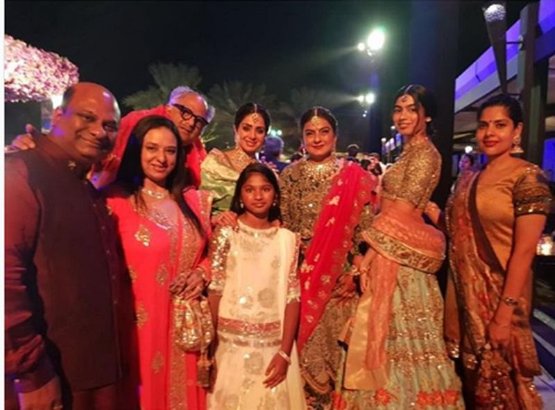 Sridevi's last picture with family goes viral ahead of first death anniversary