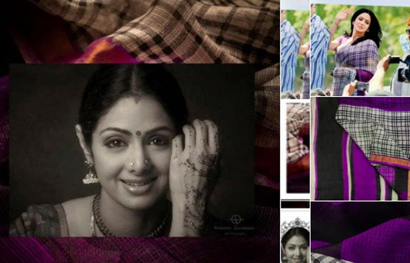 Boney Kapoor decides to auction Sridevi's handwoven Kota saree for charity ahead of her first death anniversary