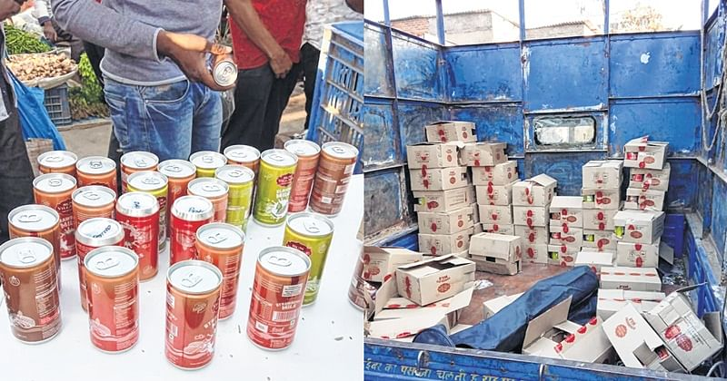 Bhayandar: 780 cans of 'expired' milk seized