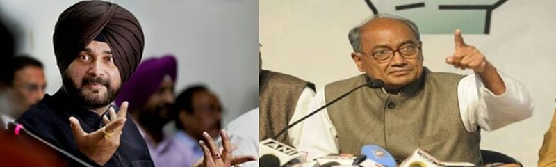 Tell your friend Imran Khan to act against terrorists: Digvijaya Singh's jibe at Navjot Singh Sidhu