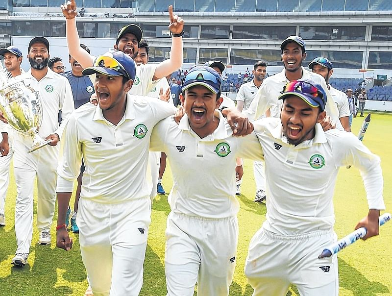 What we did was to work on inside cricket and ethics, says Vidarbha's coach Chandrakant Pandit