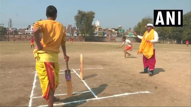 Youngsters play in dhoti and kurta as cricket tournament gets Sanskrit touch in Varanasi