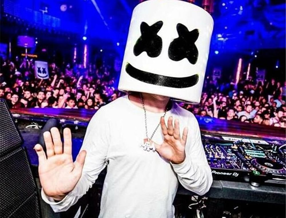 Pulwama attack: DJ Marshmello observes two-minute silence for martyred jawansat his show