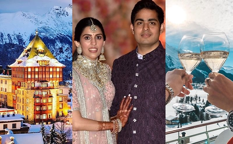 Can you afford a night at the St. Moritz Hotel where Akash Ambani's pre-wedding bash was held?
