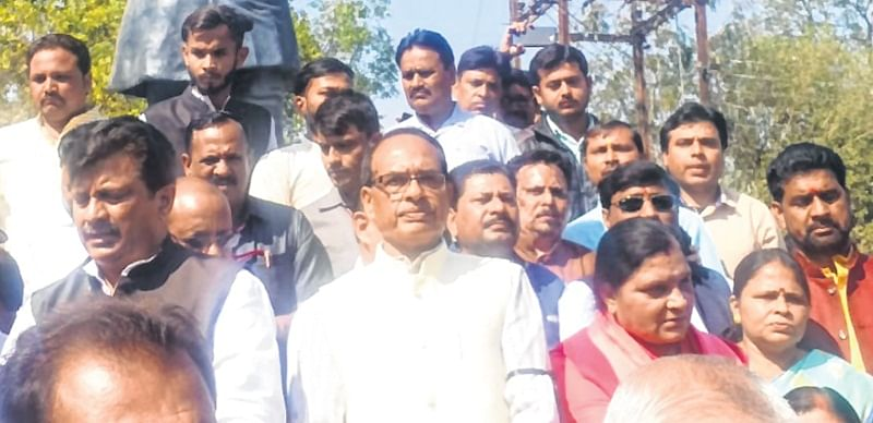Bhopal: Nath diverting public attention to hide failures: Chouhan