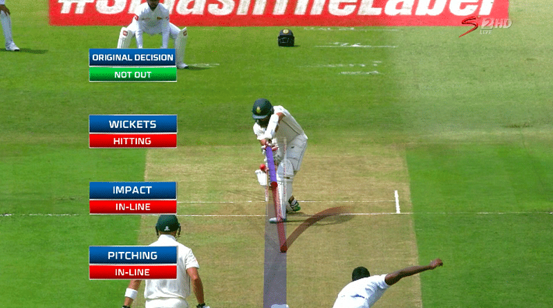 Gone in 15 seconds! DRS 'time rule' sparks controversy as Sri Lanka denied review over Hashim Amla decision