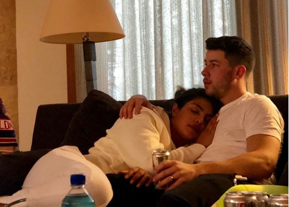 Fans hit back at trolls criticising Priyanka Chopra for posting cosy pic with Nick Jonas
