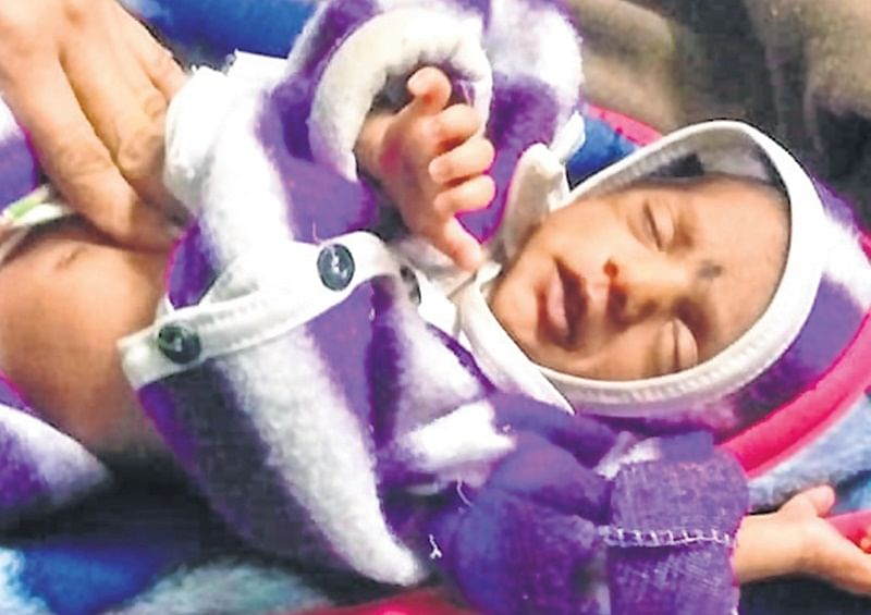 Indore: Another newborn girl found, police clueless about the parents