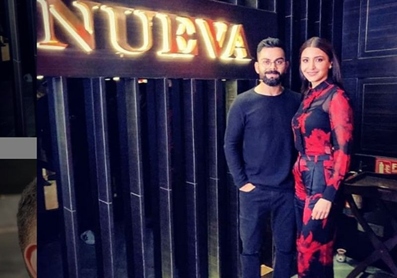 Virushka's Valentine moment: Virat Kohli, Anushka Sharma celebrate Valentine's Day at former's Delhi restaurant, checkout pics