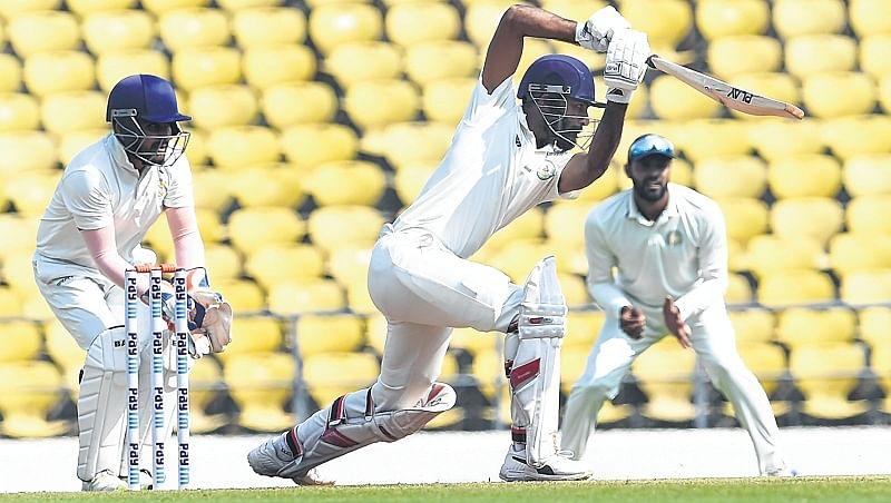 Ranji Trophy Final: Vidarbha on top as Akshay Karnewar fights a lone battle for Saurashtra