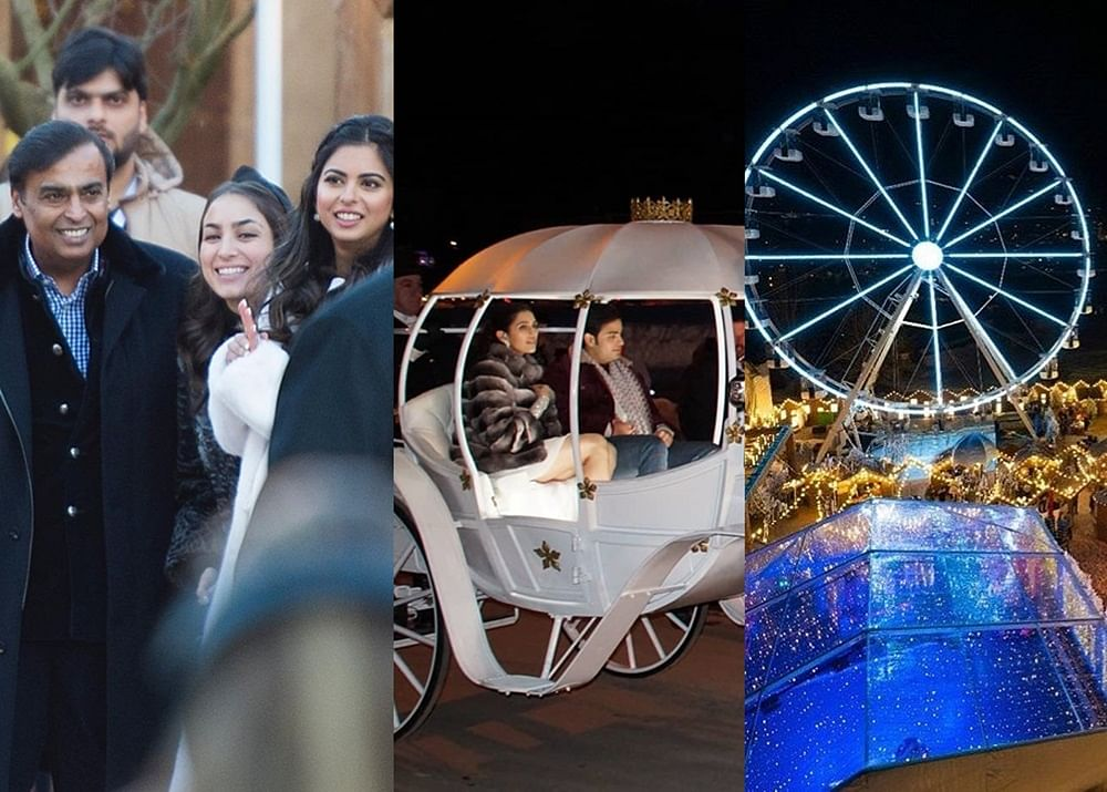 Inside pictures from Akash Ambani-Shloka Mehta's pre-wedding bash in Switzerland