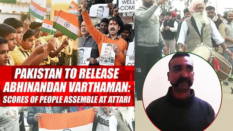 Pakistan To Release Abhinandan Varthaman: Scores Of People Assemble At Attari