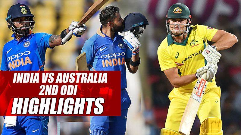 India vs Australia | 2nd ODI 2019 Highlights