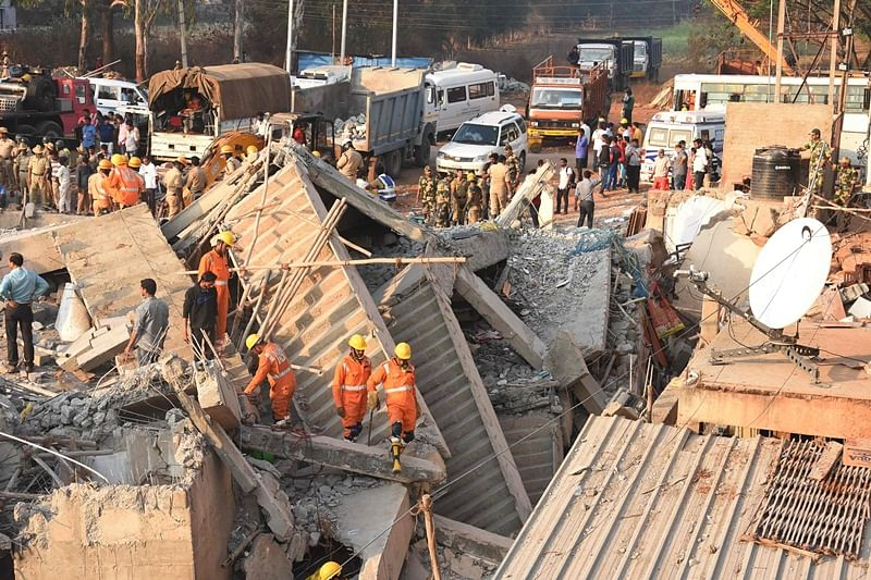 Death toll in Dharwad building collapse rises to 14