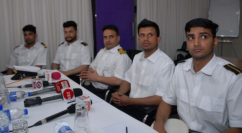 5 Indian sailors return home after 14 months in Greek jail