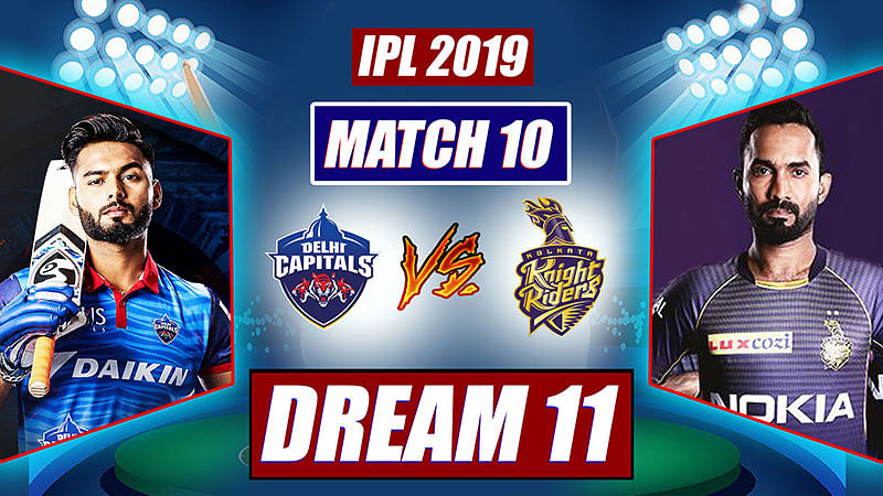 IPL 2019 DC vs KKR Match 10: Probable Playing XI, Dream 11 Prediction