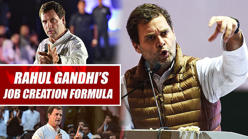 This Is Rahul Gandhi's Job Creation Formula