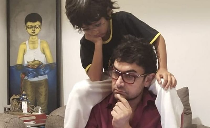 Happy Birthday Aamir Khan: Check out daddy 'perfectionist' keeping up with his kids Ira, Junaid and Azad
