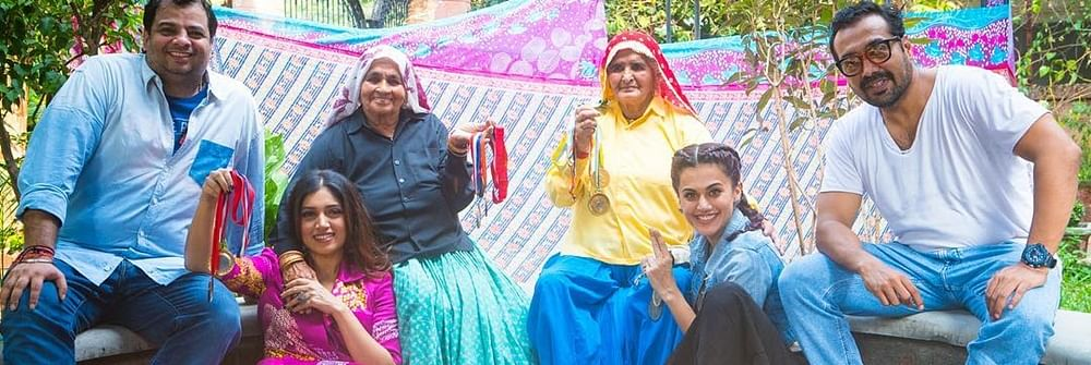 It's hard to look at myself as a 60-year-old woman: Taapsee Pannu on 'Saand Ki Aankh'