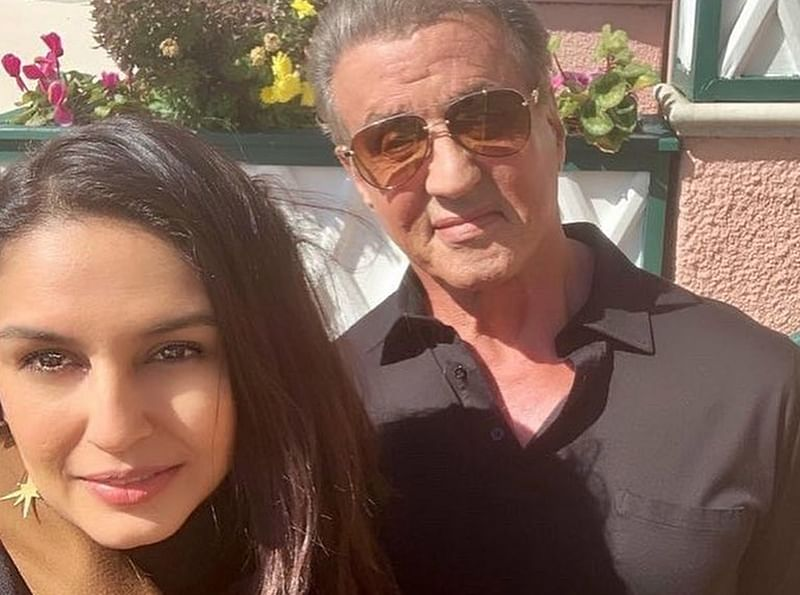 Huma Qureshi bumps into Sylvester Stallone over lunch