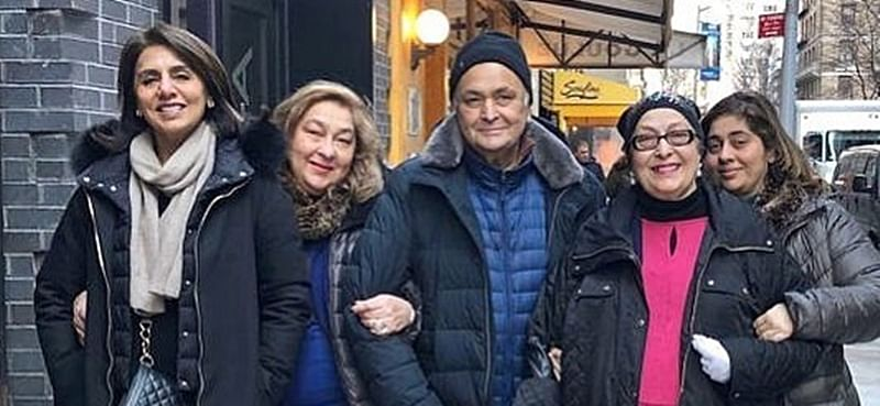 Neetu Kapoor's recent post suggests Rishi Kapoor is coming back to India soon