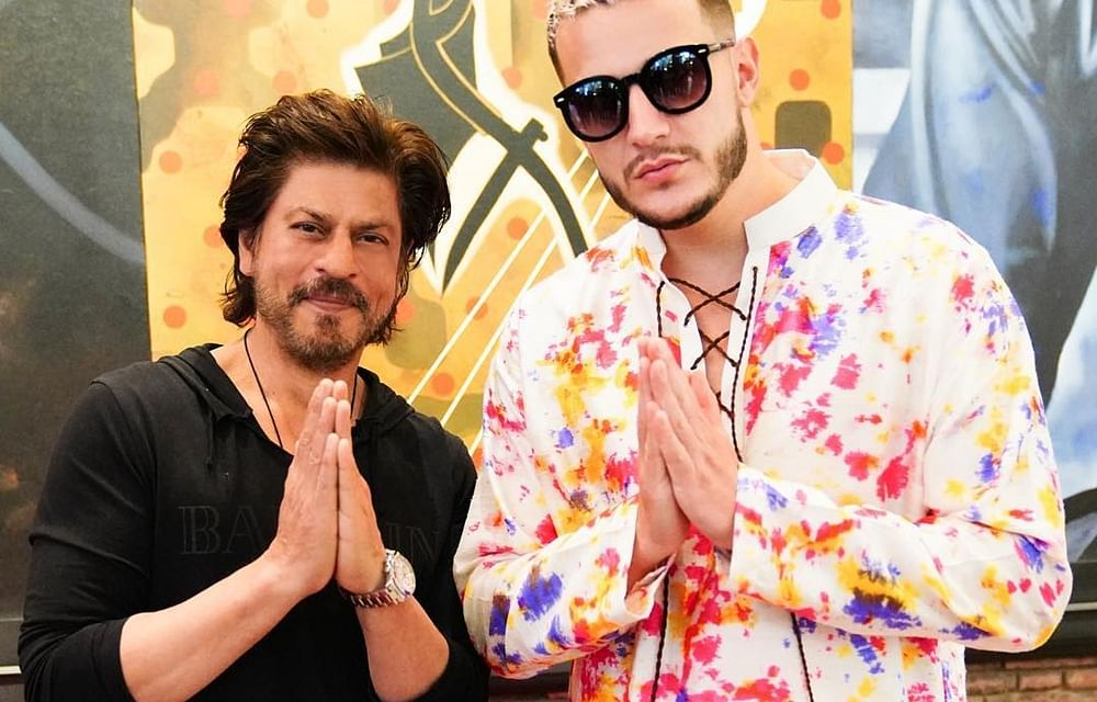DJ Snake calls SRK a 'legend' in his latest post