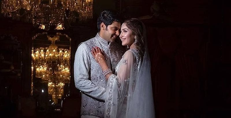 Sayyesha Saigal and Arya dance away as they enjoy their pre-wedding celebrations