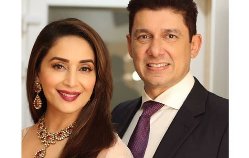 Madhuri Dixit Nene and Shriram Nene adopt a rescue puppy