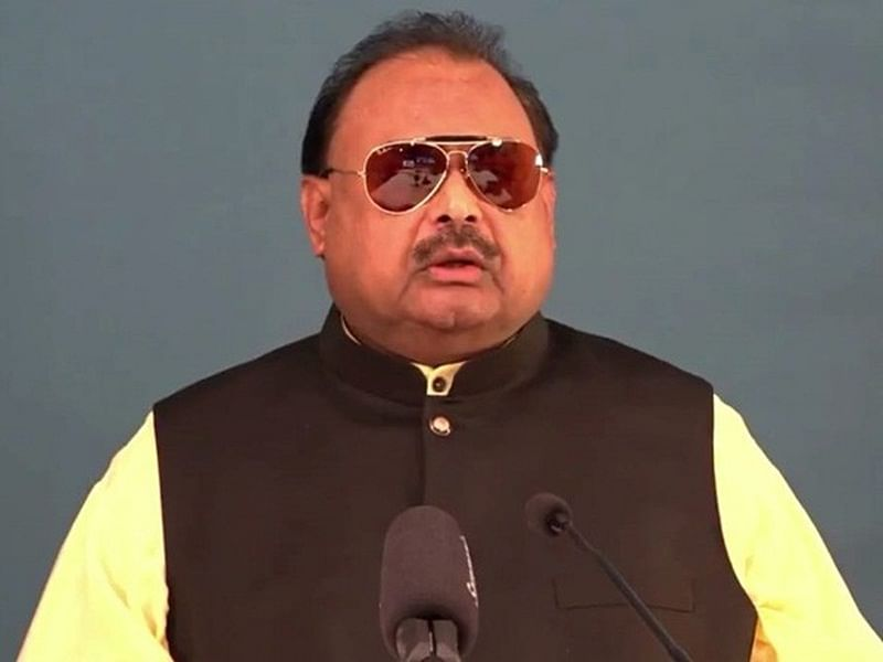 So-called action against terror outfits just an eyewash to deceive world: MQM leader Altaf Hussain