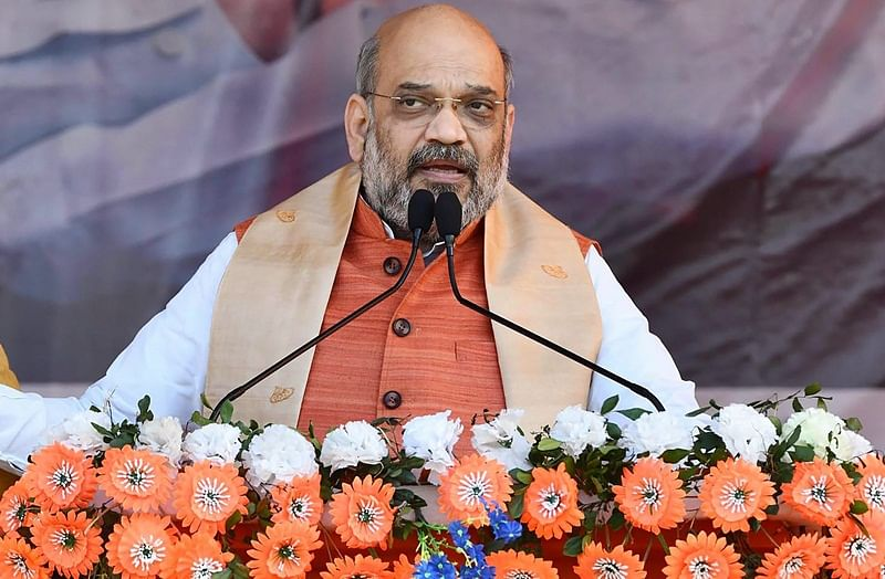 Congress accuses Amit Shah of false affidavit