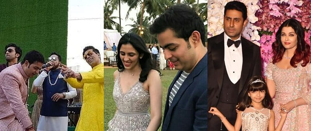 Twitter goes ROFL with memes from Akash Ambani and Shloka Mehta's wedding