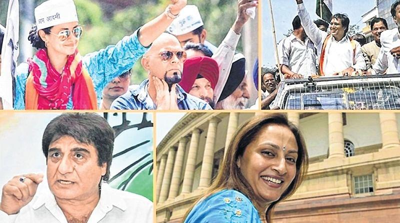 For Bollywood stars, politics mid-life career option