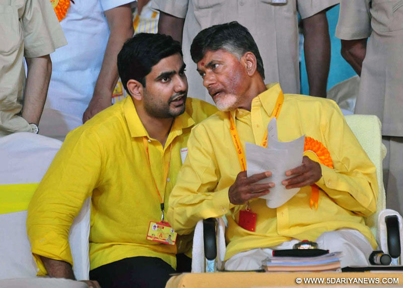 TDP announces 126 candidates for Assembly polls; Chandrababu Naidu, son Nara Lokesh to contest