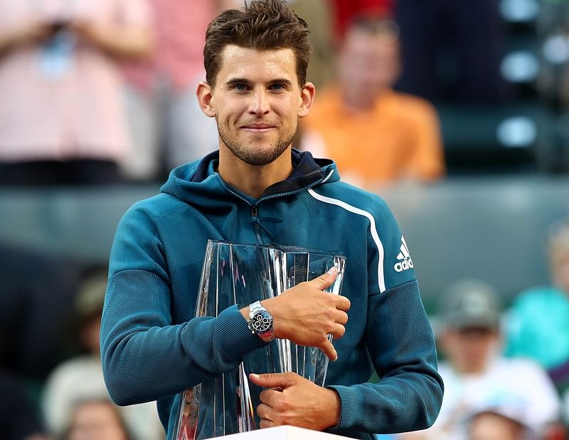 Dominic Thiem stuns Roger Federer to lift first ATP Masters 1000 title at Indian Wells