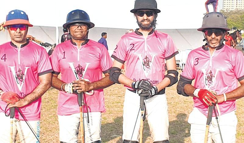 Dhruvpal Godara shines in V Polo's victory