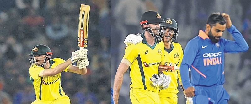 Australia beat India in 4th ODI by 4 wickets, level series 2-2