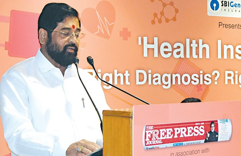 There is need for greater private sector activity in health insurance: Eknath Shinde at FPJ health conference
