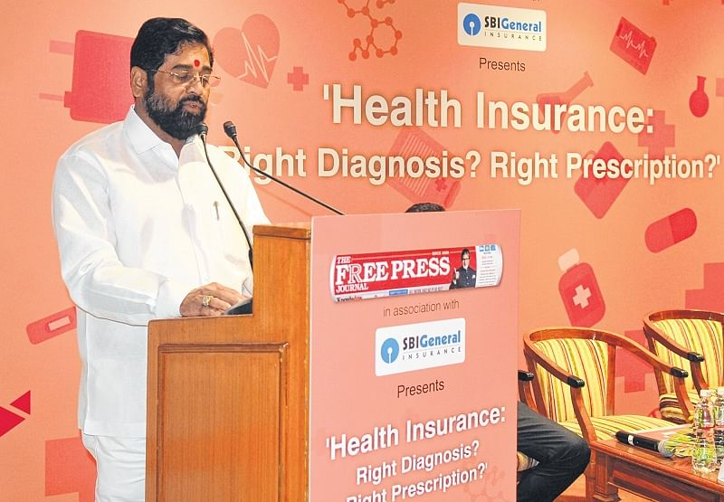 Free pharmacies and private health insurance partnerships: Maharashtra Health Minister Eknath Shinde at FPJ event