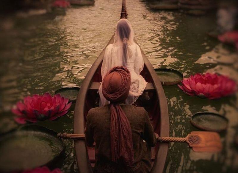 Karan Johar shares first look of Kalank with serene glimpse of Varun Dhawan and Alia Bhatt