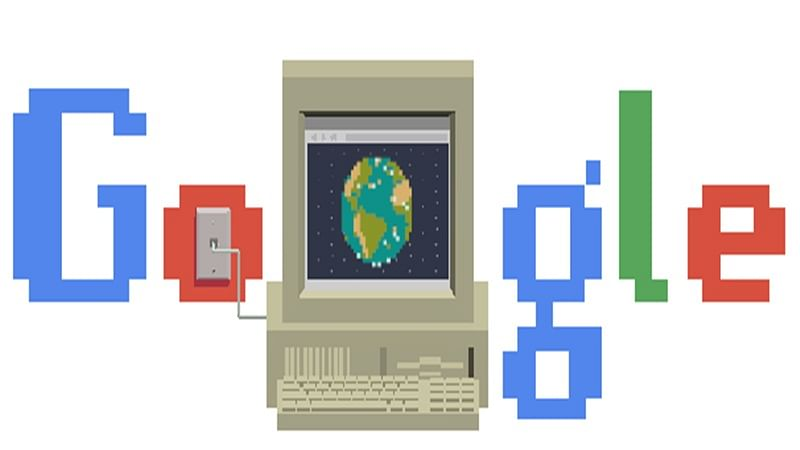 Google celebrates 30 years of World Wide Web with a doodle