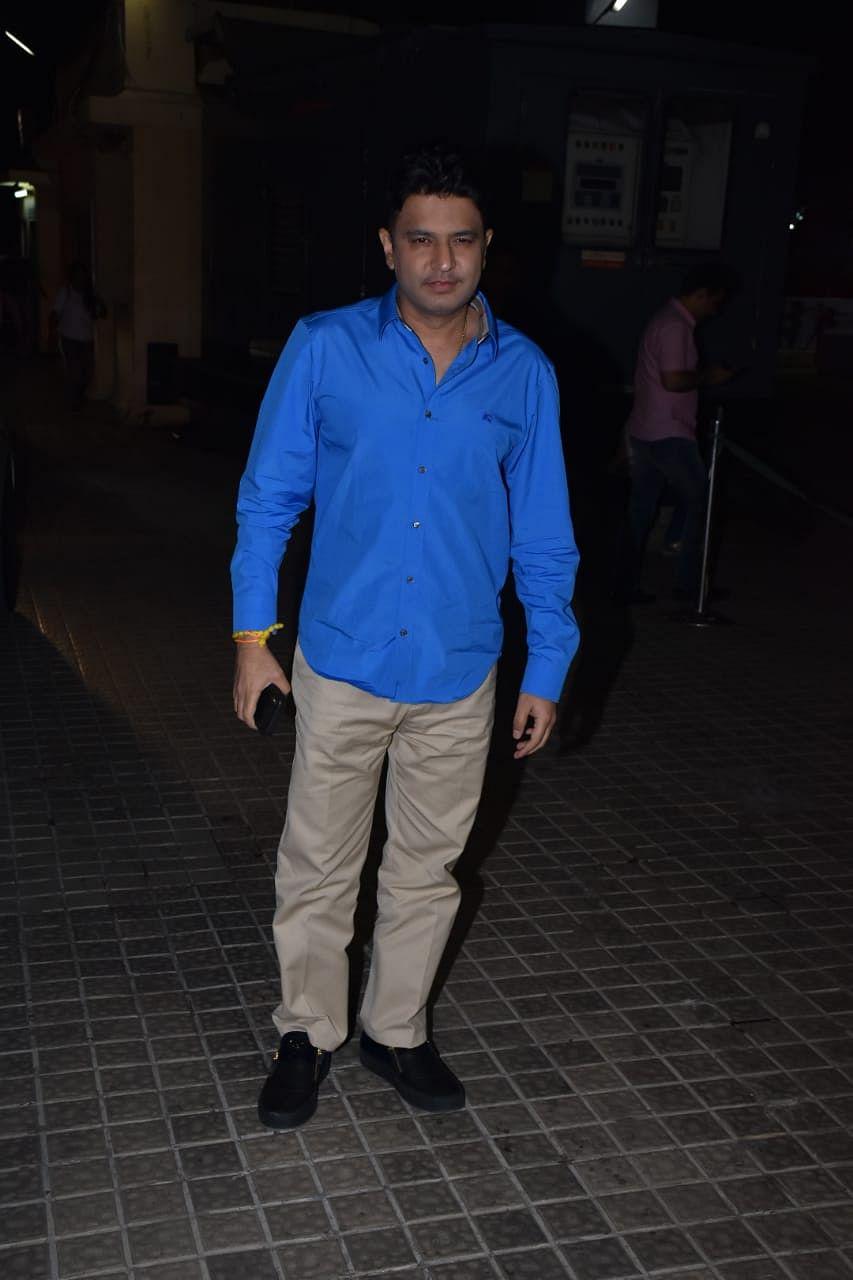 "Bhushan Kumar,<span class=""LrzXr kno-fv"">Pic courtesy: Viral Bhayani</span>"