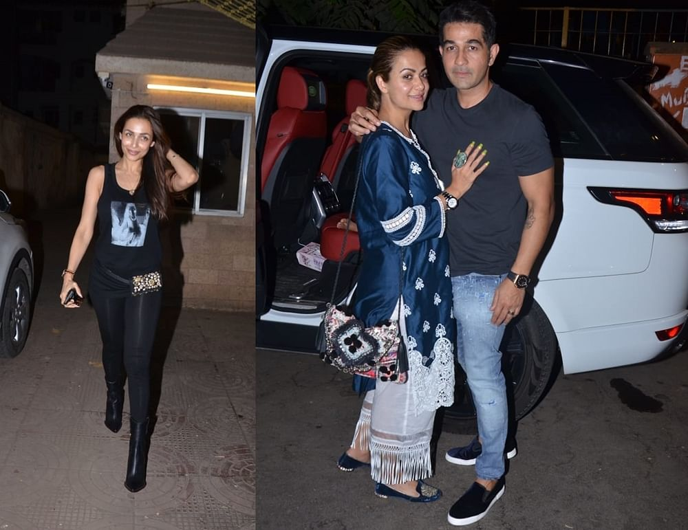 In Pics: Malaika Arora hosts an intimate family dinner on her mom's birthday, but where is Arjun Kapoor?
