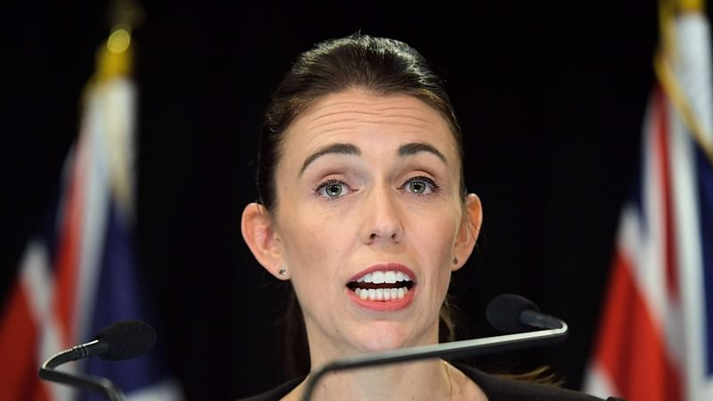 New Zealand PM Jacinda Ardern turned away from cafe