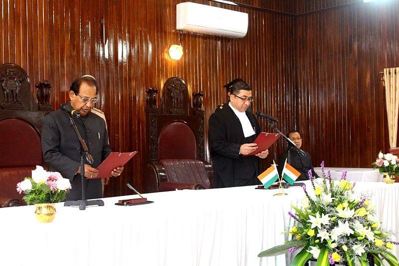 Jagdish Mukhi sworn in as Governor of Mizoram