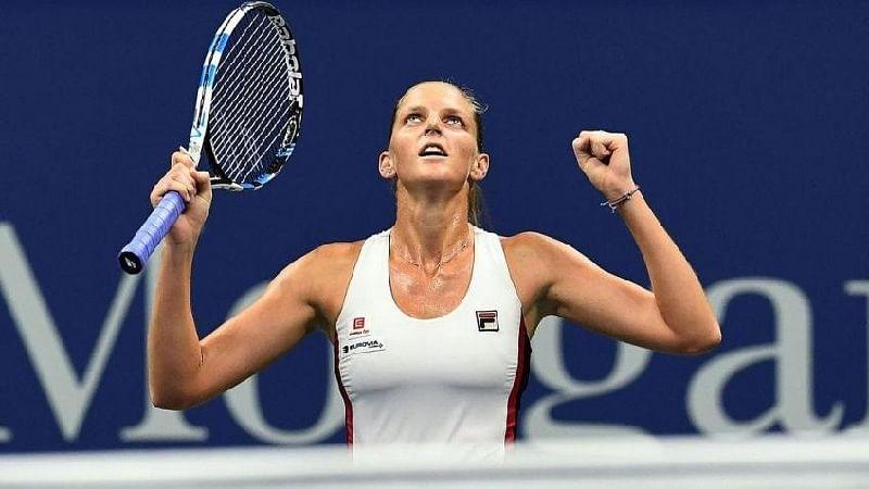 Miami Open: Karolina Pliskova overcomes Halep