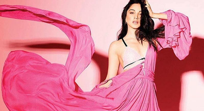 Kiara Advani in pink on the cover of FHM magazine is a sight to behold