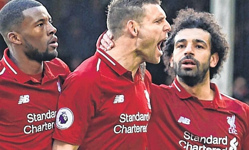 Liverpool on top in English Premier League