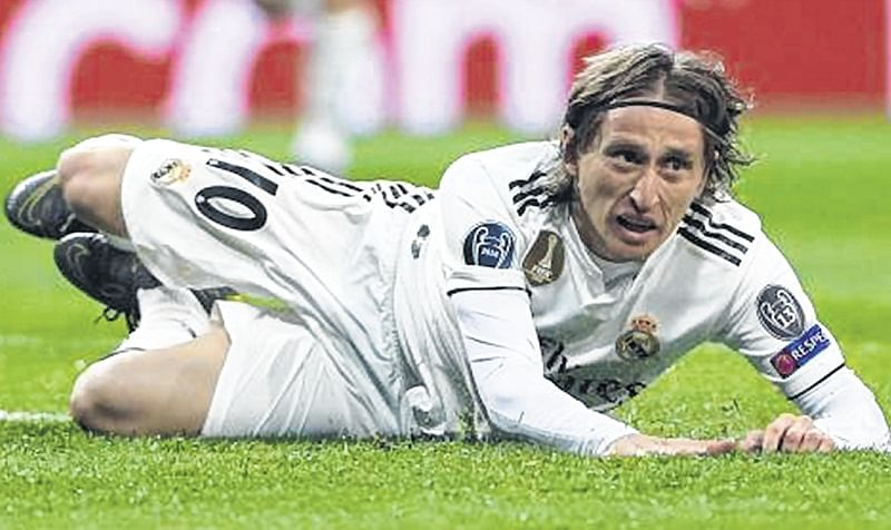 Most difficult week of my career, feels Luka Modric after loss to Ajax